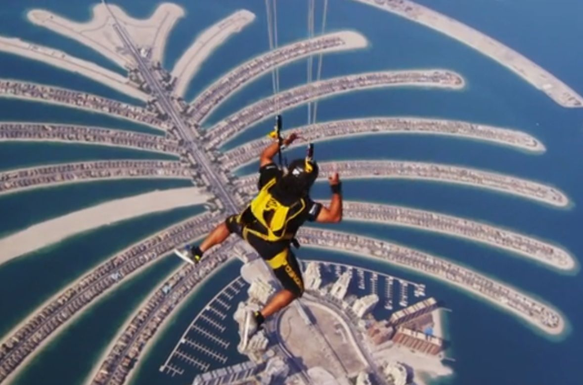 World Parachuting Championship - Dubai 2012