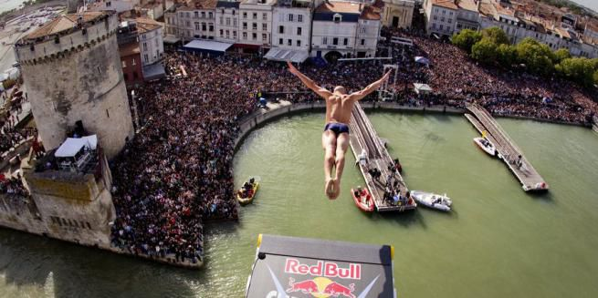 Red Bull Cliff Diving 2013 empezó
