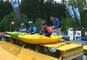 The results of the European Championships in extreme kayaking - Year 2011