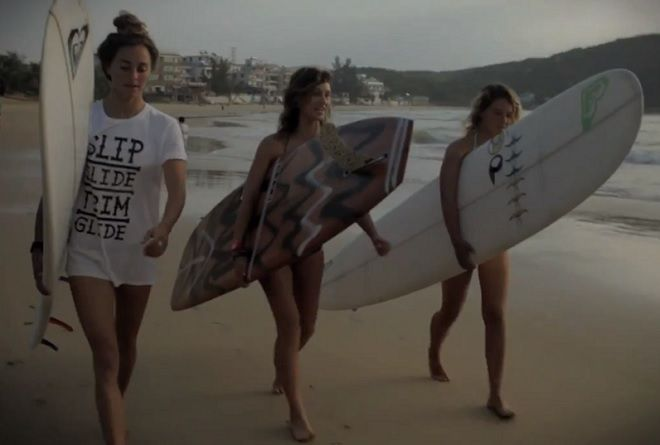 Swatch girls Pro-China- 冲浪 海南岛