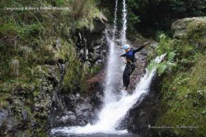 Canyoning on Madeira (Portugal)