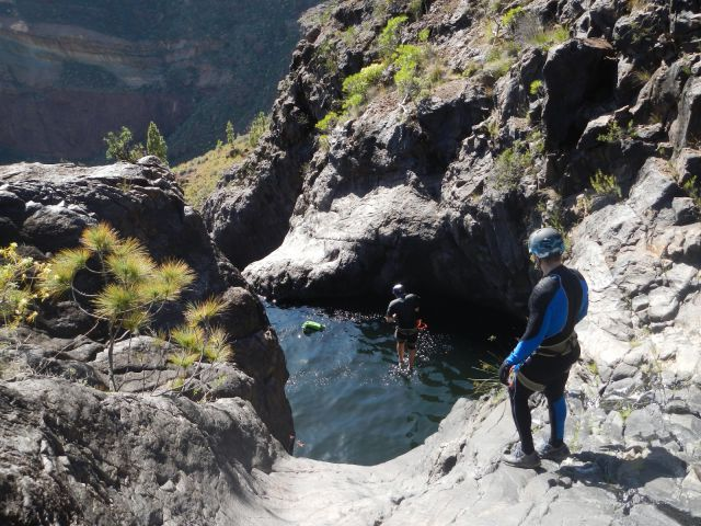 Barranco de la Manta Canyoning, Gran Canaria, Canary Islands