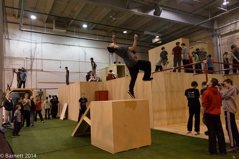 New Parkour Gym Has Opened In Calgary