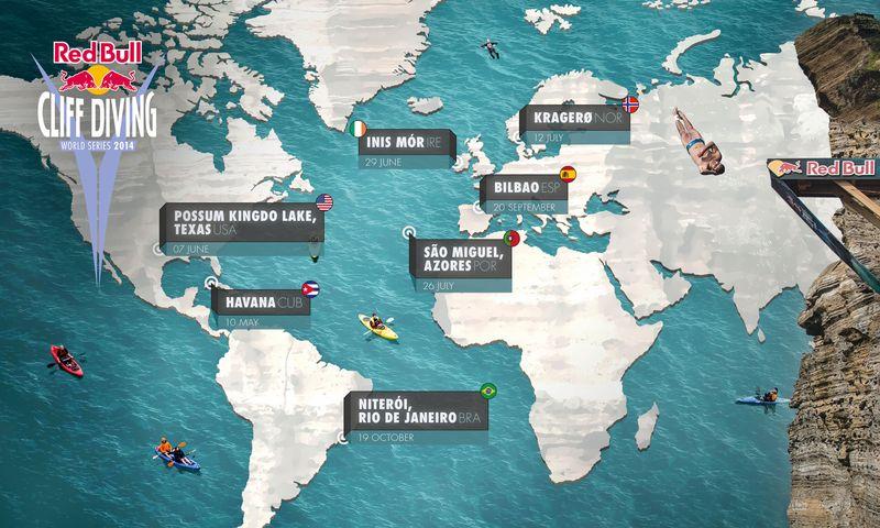 Red Bull Cliff Diving World Series: Calendario 2014 | Adrex com