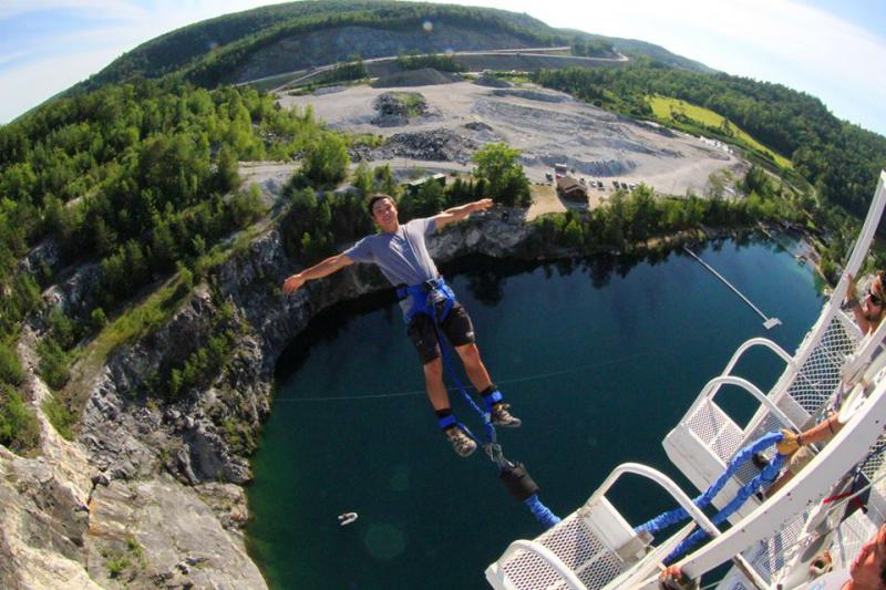 Great Canadian Bungee, Wakefield, Quebec