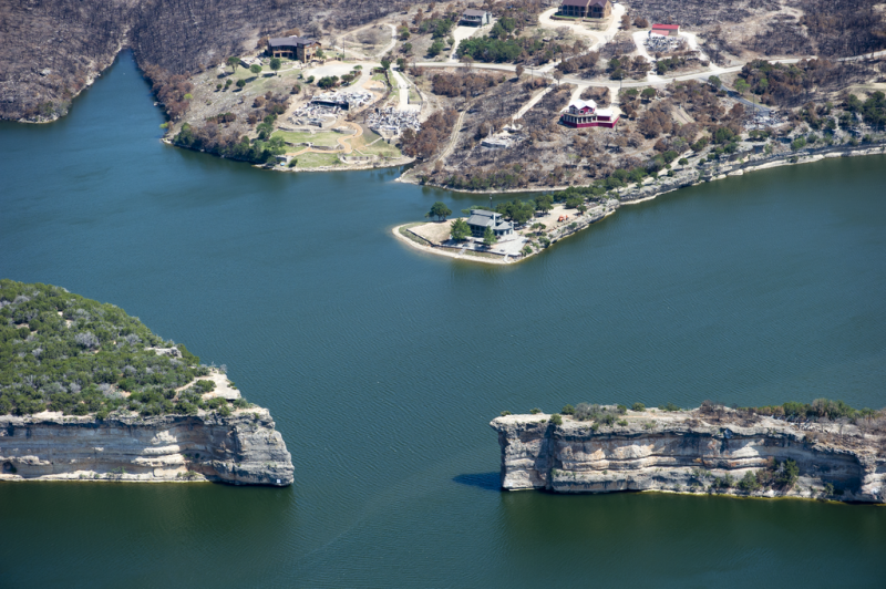 Hells Gate Cliff Diving, Possum Kingdom Lake, Texas
