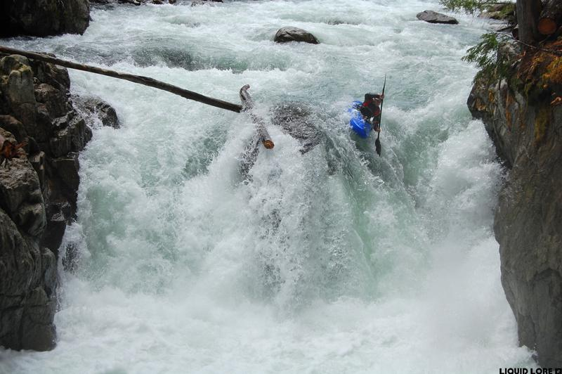 Callaghan Creek Kayaking, Whistler, British Columbia