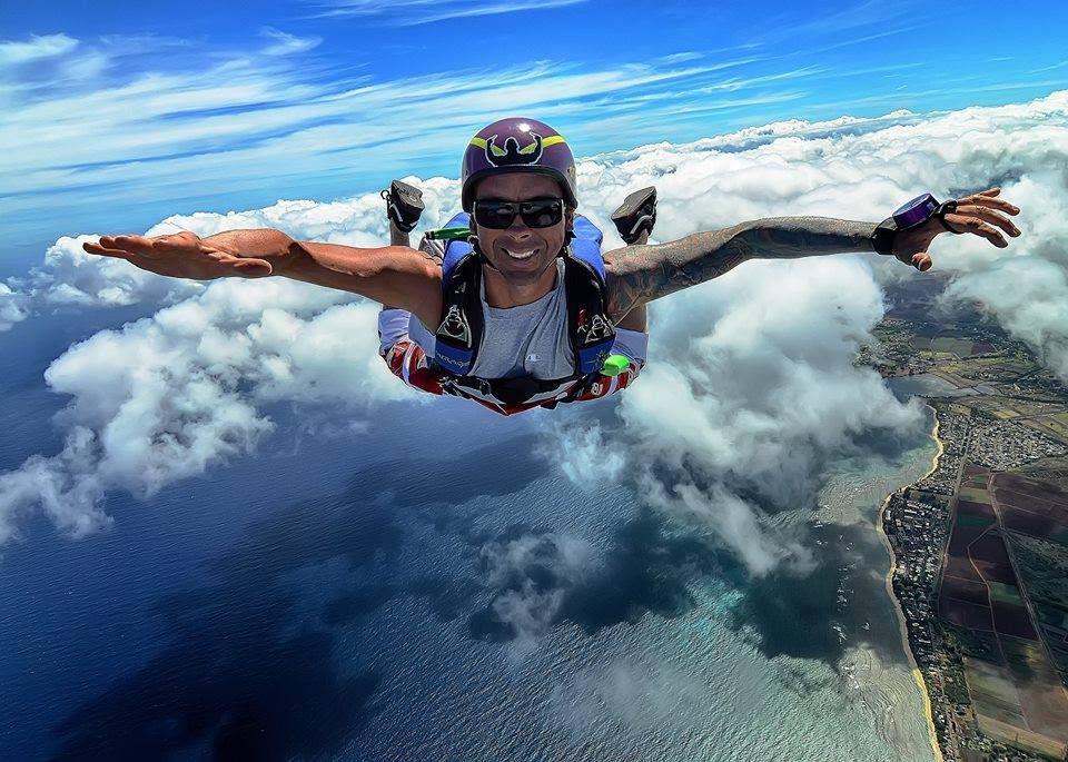 Pacific Skydiving Honolulu - посмотри на Гавайи други взглядом