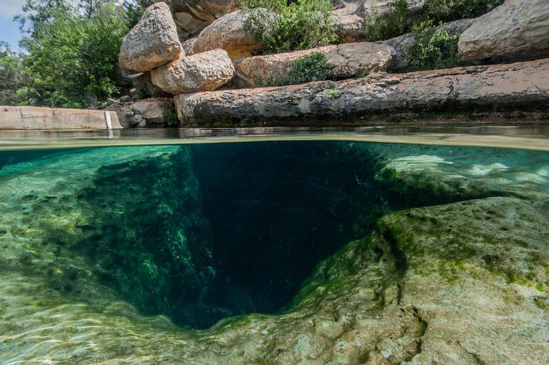 Jacobs Well Depth