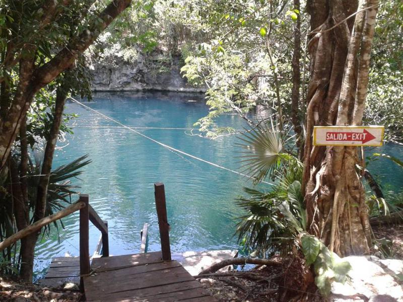 Cenote Angelita Diving, Tulum, Mexico