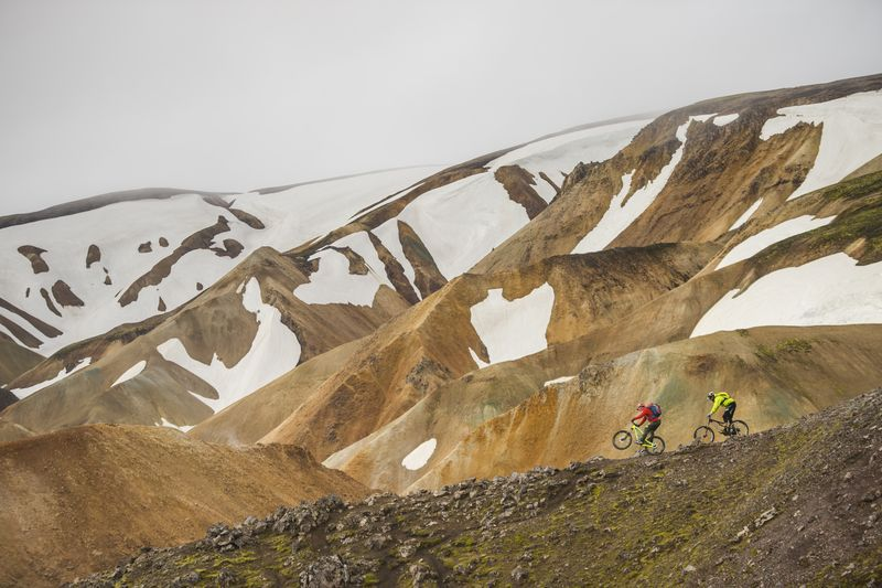 Iceland Traverse with Hans Rey & Steve Peat