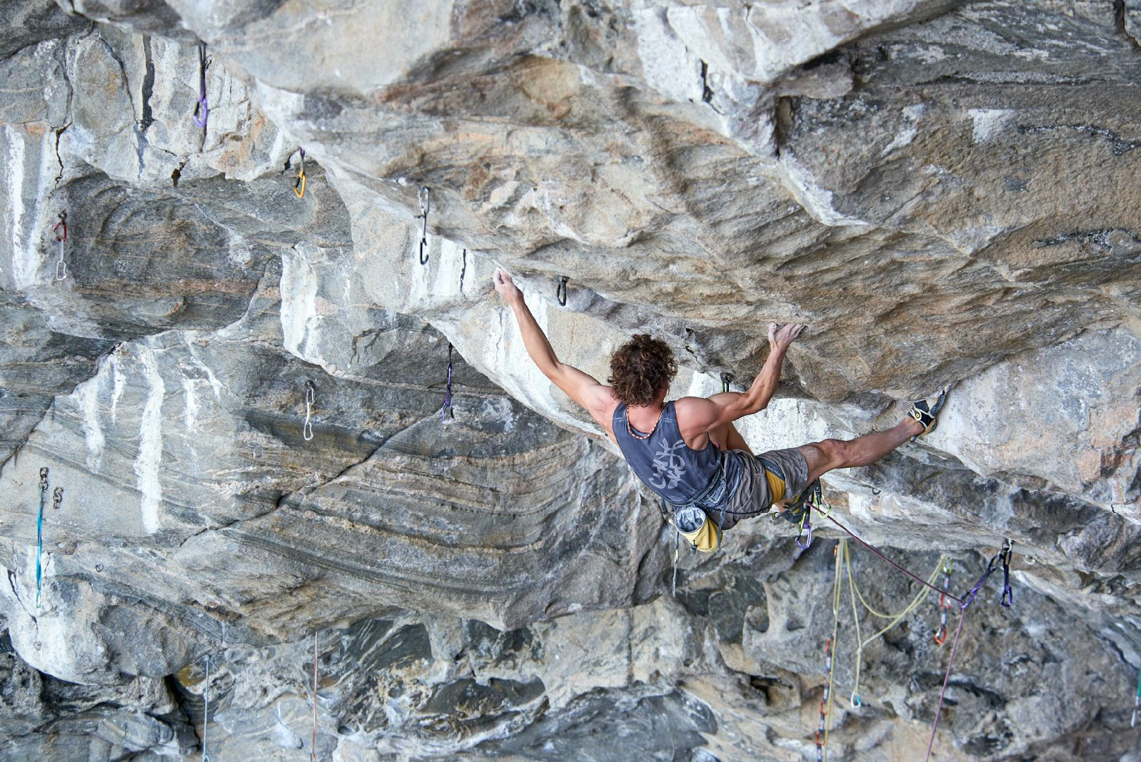 Adam Ondra Climbs the World's First 9c