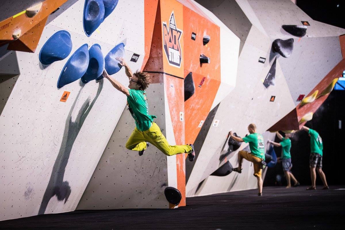 Climbing celebs from over 20 countries meet in Stuttgart for