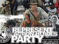 Represent Action heroes party
