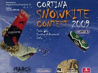 Snowkiting - Cortina Snowkite Contest 2009