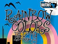 Street Outlet Rainbow Colors party 2009